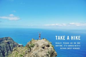 live to take a hike