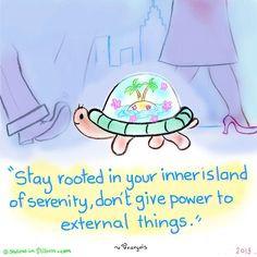 Serenity quote via www.SketchesinStillness.com
