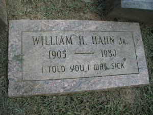 Can you find some Funny Tombstones, Tombstone sayings or Unusual ...