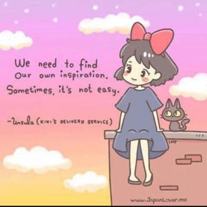 Kiki's delivery service quote hayao Miyazaki