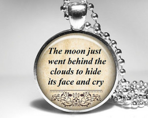 Song Lyrics Quote Necklace Hank Wil liams Pendant Inspirational music ...