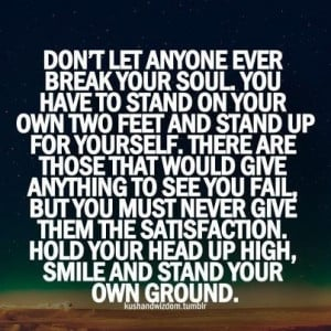 sTAND YOUR OWN GROUND
