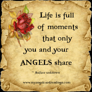 ... your angels share author unknown more angel parchment image quotes 100