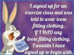 bunny exercise class quotes quote cartoons funny quotes looney tunes ...
