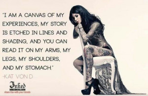 Kat Von D quote