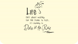 The Rain Quotes And Sayings Image is loading life-dancing-in-the-rain ...