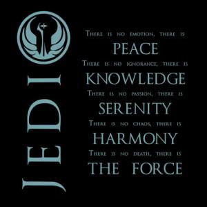 The Jedi Code - jediism Fan Art