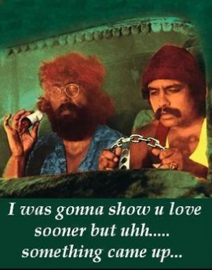 That's right, Cheech & Chong are going on tour again.