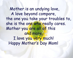 Happy Mothers Day Quotes From Son (28)