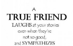 No True Friends Quotes