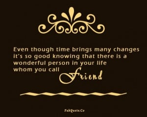 wonderful person in your life quote