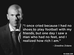 One of the best quotes by footballer...