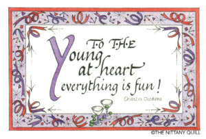 ... Quote Collections :: Birthday :: #264 To the young at heart