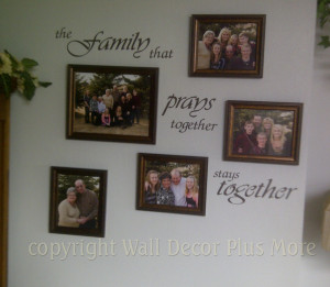 Family Wall Sticker Quote ~ custom-designed decal