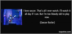 Love Soccer Quotes