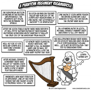 Mellophone Jokes I'm laughing at the mellophone
