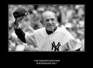 Yogi Berra Quotes and Sayings Master of the malapropism but his quotes ...