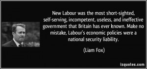 New Labour Quotes