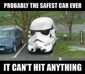 Storm trooper car.