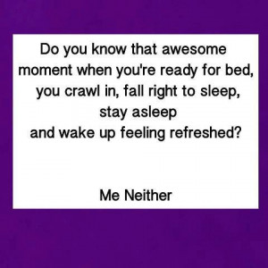 ADHD & Sleep-it's a good feeling to know that i am not the only one ...