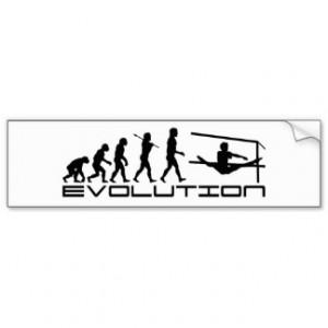 Evolution Bumper Stickers