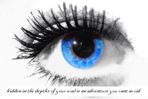 ... Eyes Hidden In The Depth Window Of the Soul Eyes That Do Not Cry God