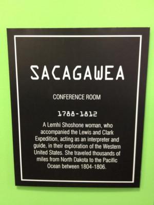 Sacagawea #LewisandClark | Propel Marketing