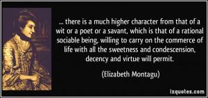 More Elizabeth Montagu Quotes