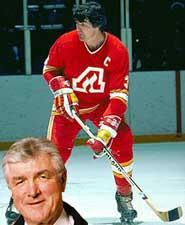 Calgary Flames outdoor jersey's