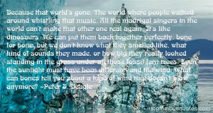 Favorite Peter S Beagle Quotes