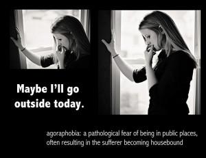 Mom think I'm an agoraphobia insomniac