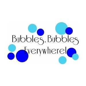 Bubbles Vinyl Bathroom Quotes