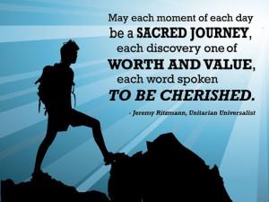 Unitarian Universalist Sacred Journey - Poster