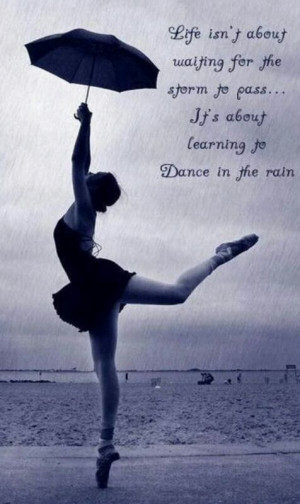 love dancing in the rain!!!!! Best. Thing. Ever.