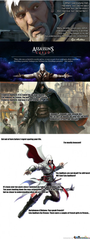 Ezio Auditore Da Firenze Quotes #1