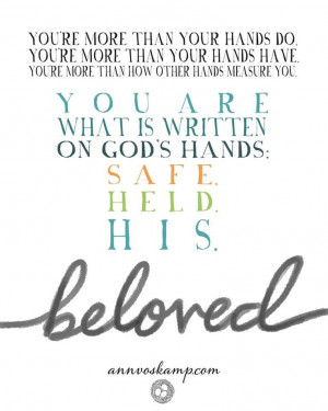 Ann Voskamp ~ beloved