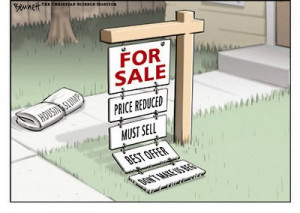 Whatever the reasons you have for selling.....