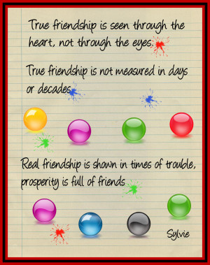 Friendship has no color- Cause Friendship Is Bind!