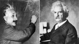 Good quote, wrong person: Albert Einstein and Mark Twain