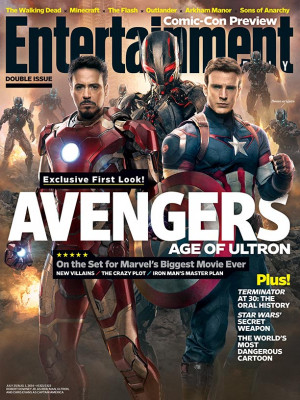 ... week's cover: Meet the new boss in Marvel's 'Avengers: Age of Ultron