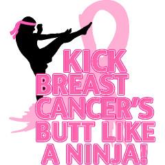 Kick Cancers Butt Thong