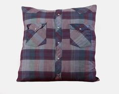 Western shirt pillow. My sister is having a couple of these made from ...