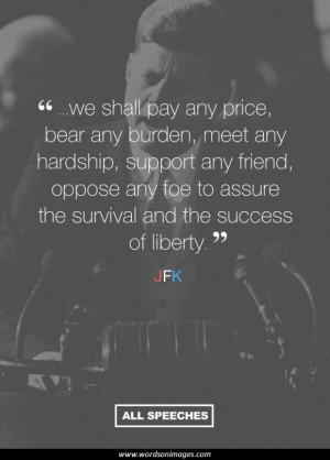 Inspirational quotes jfk
