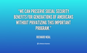 We can preserve Social Security benefits for generations of Americans ...