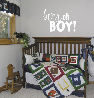 Baby Boy Wall Quotes & Sayings