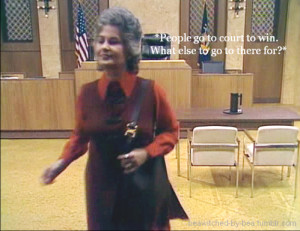 Bea Arthur as Maude Findlay in Maude, S1E6 'The Ticket' where ...