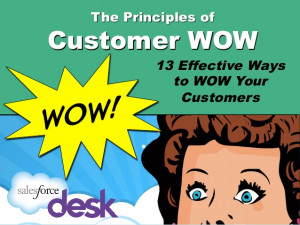 Desk.com's Principles of Customer WOW