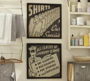 Laundry Room Art {Inspiration Part 3}