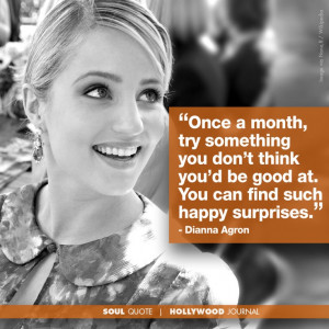 Dianna Agron | Soul Quote |