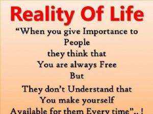 Life quotes reali...